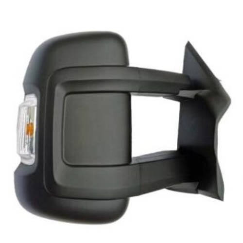 Citroen Jumper új utángyártott visszapillantó tükör jobb oldal hosszú karú platós kivitelhez 2006-tól
