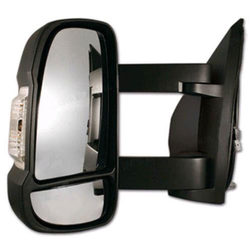 Citroen Jumper új utángyártott visszapillantó tükör bal oldal közepes karú platós kivitelhez 2006-tól