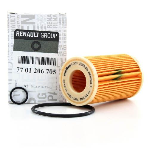 Típusfüggetlen Renault alkatrész Olajszűrő betét