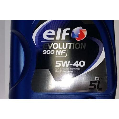 Elf full szintetikus motorolaj 5W40 5L