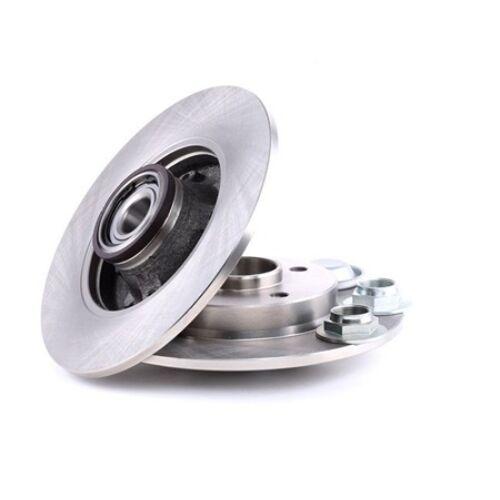 Citroen DS3 gyári új féktárcsa pár kerékcsapággyal hátsó tengely 2010-2015-ig