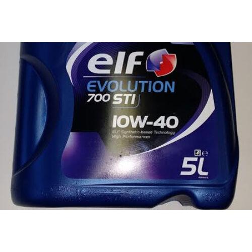 Elf Fél szintetikus motorolaj 10W40 5L