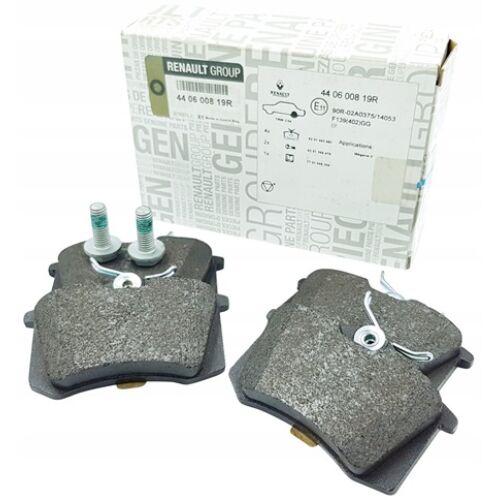 Citroen DS3 1.2 THP, 1.6 THP gyári új fékbetét garnitúra tárcsafékhez, hátsó tengely 2010-2015-ig