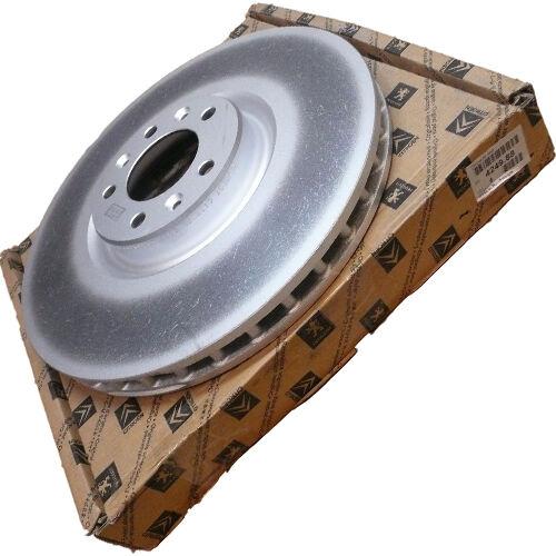 Citroen C6 gyári új első féktárcsa pár 2006-2015-ig 424988