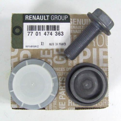 Renault Clio III gyári új Vezérlés módosító kerék szimering készlet 2007-től 7701474363
