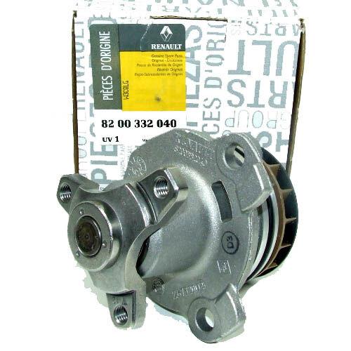 8200332040 210103098R  Vízpumpa, Vízszivattyú gyári alkatrész.