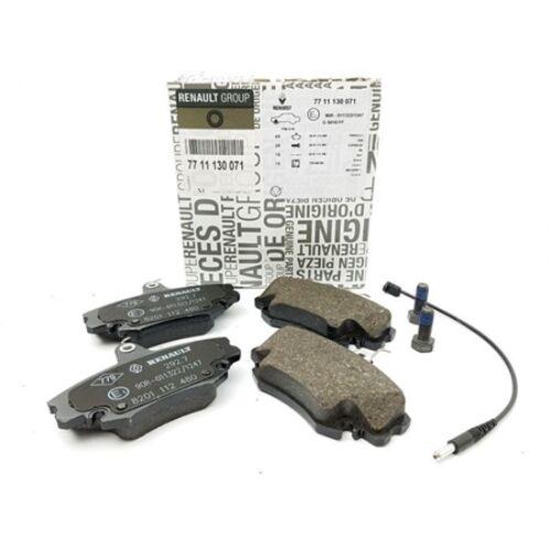 Dacia Sandero I 1.4 8V, 1.6 8V gyári új fékbetét garnitúra tárcsafékhez, első tengely 2008-2012-ig 7711130071  7701206082  7701206085  7701207960, webáruház, alkatrészek