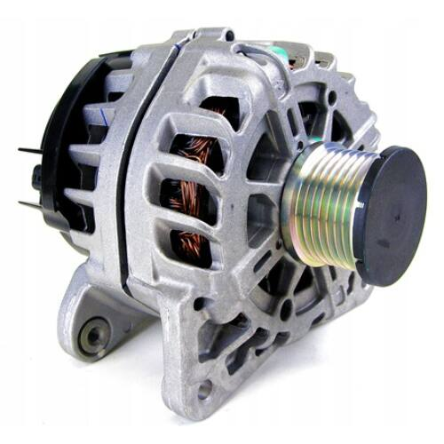 Dacia Sandero II Tce 90 gyári új generátor szabadonfutóval 2012-től 231008040R  231004ED0A  7701071376  8200225806, webáruház, alkatrészek
