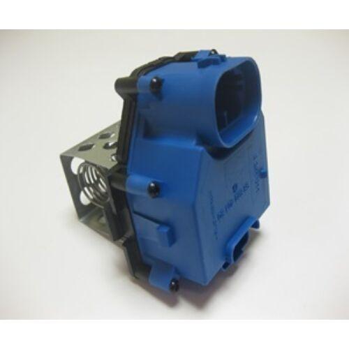 Citroen C4 öt ajtós új utángyártott fűtőmotor előtét ellenállás kék csatlakozós 2004-2010-ig