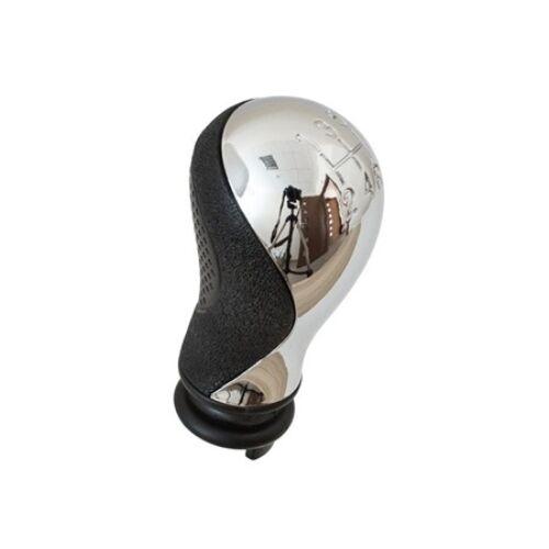 Citroen Xsara Picasso új utángyártott fekete váltógomb króm kupakkal 5 sebességes járművekhez 1999-2008-ig 2403.Y8